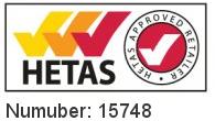 HETAS - Number 15748
