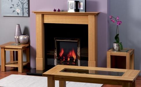 The Miranda Wooden Modern Fire Surround