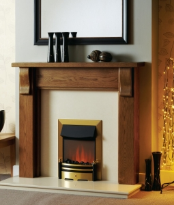 The Montreal Wooden Modern Fire Surround