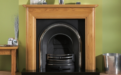 The Toni Wooden Modern Fire Surround