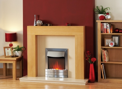 The Derwent Wooden Modern Fire Surround