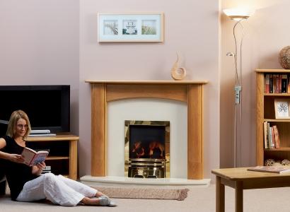 The Deighton Wooden Modern Fire Surround