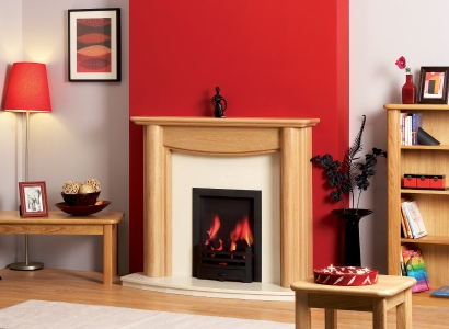 The Bowness Wooden Modern Fire Surround