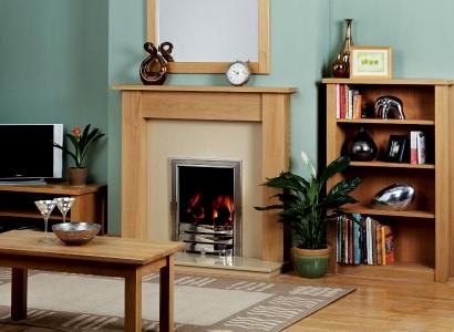 The Justine Wooden Modern Fire Surround