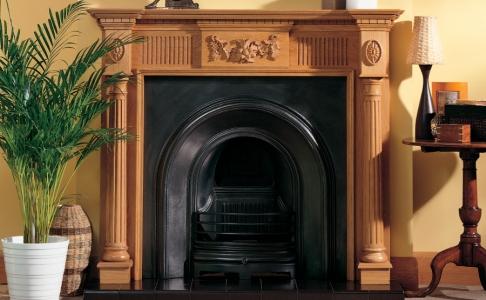 The Trafalgar Traditional Fire Surround