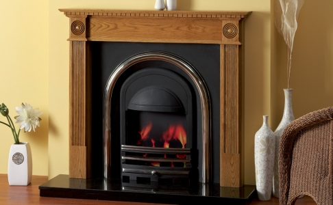 The Victorian Wooden Traditional Fire Surround