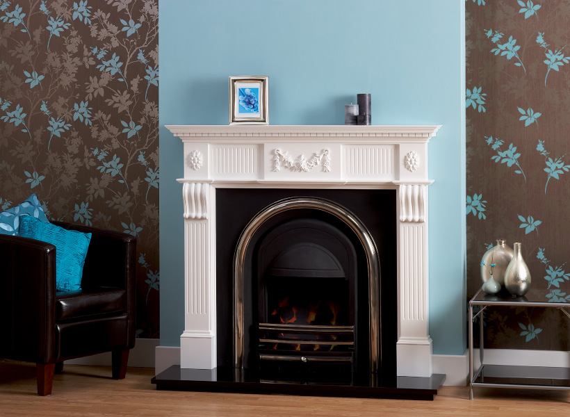 The Worcester White Wooden Surround