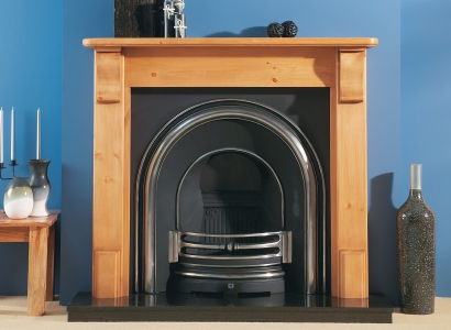The Plain Corbel Wooden Traditional Fire Surround