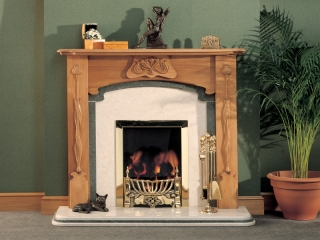 The Tiffany Wooden Surround