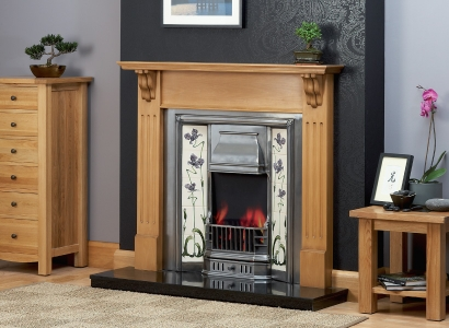 They Vyner Wooden Traditional Fire Surround