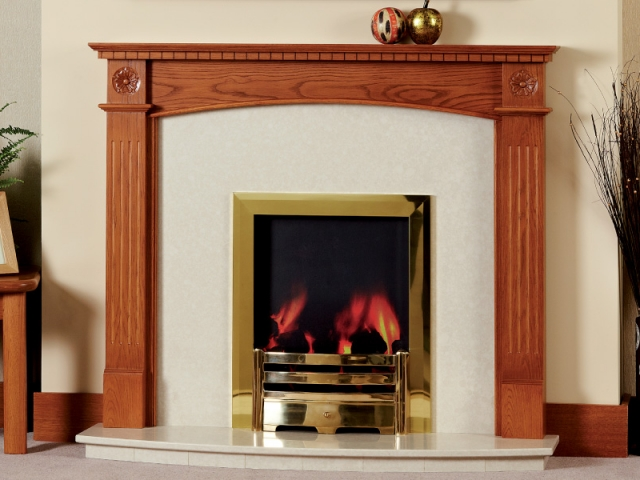 The Dalby Rose Wooden Surround