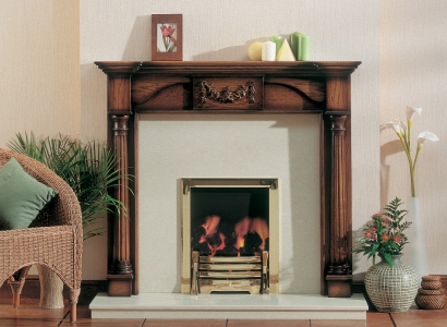 The Nelson Wooden Traditional Fire Surround