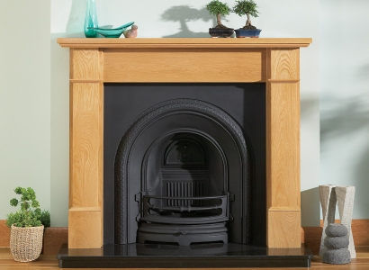 The Olivia Wooden Traditional Fire Surround