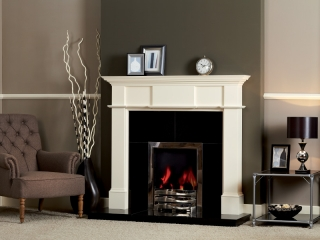 The Weymouth White Wooden Surround