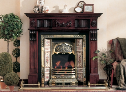The Worcester Wooden Traditional Fire Surround