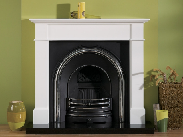 The Kensington White Wooden Surround