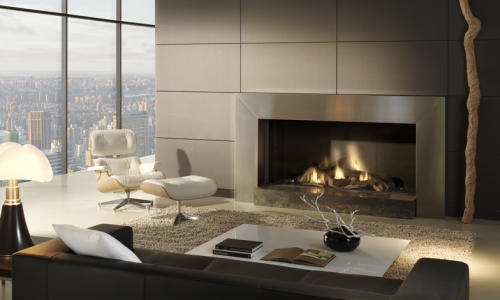DRU Cosmo Eco Wave Gas Fire