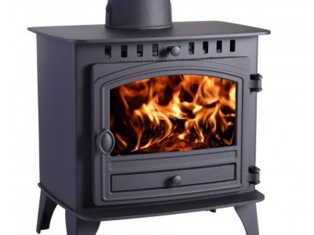 Hunter Herald 8 Double Sided Wood Burning Stove