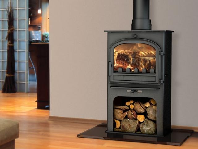 Cleanburn Løvenholm Wood Burner