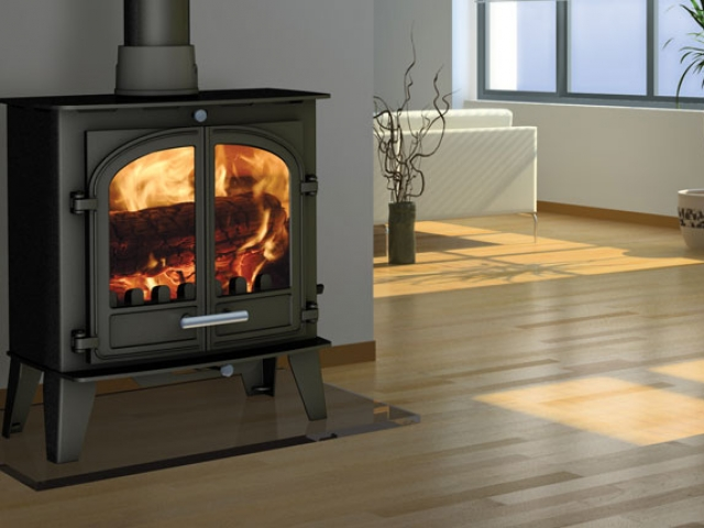 Cleanburn Sønderskoven Traditional Wood Burner