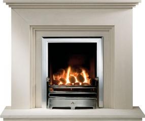 Stone fireplaces 36