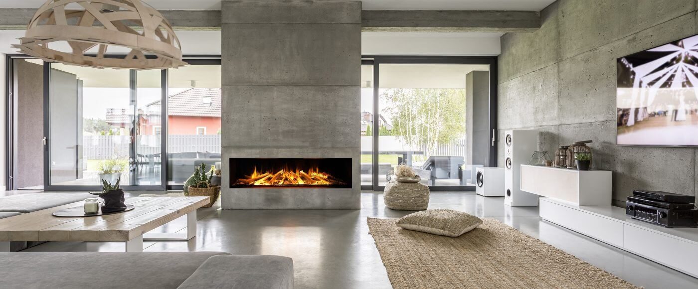 Evonic e1800 Glass Fronted Electric Fire