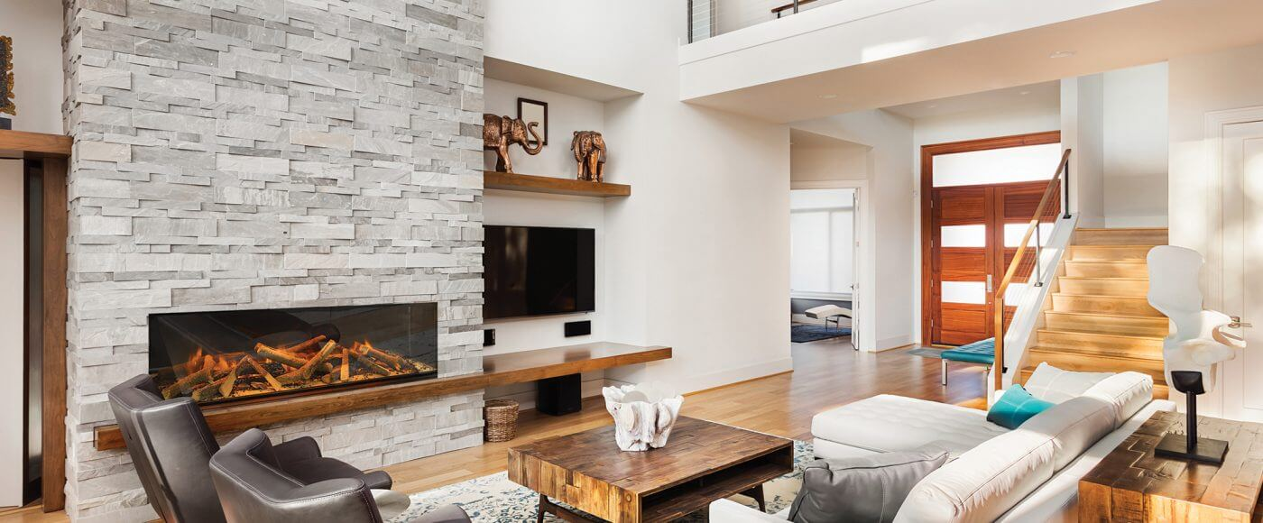 Evonic e1500 Glass Fronted Electric Fire