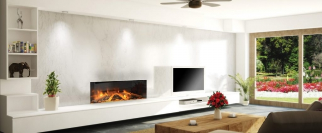 Evonic e1030 Glass Fronted Electric Fire