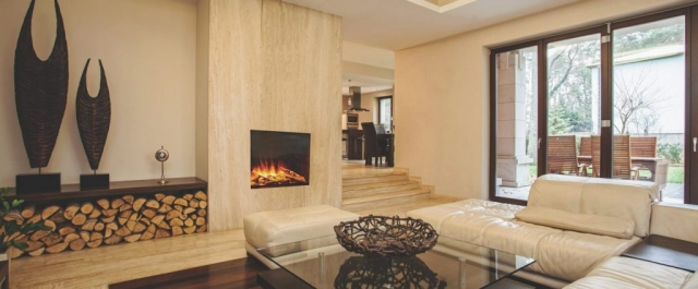 Evonic e600 Glass Fronted Electric Fire