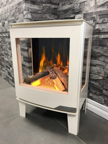 Evonic Banff3 in Ivory Electric Fire