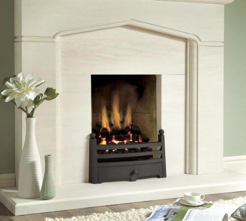 Traditional gas fires