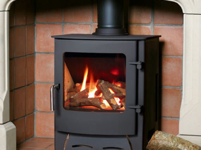 Town and Country Kirkdale Curved Door Gas Stove