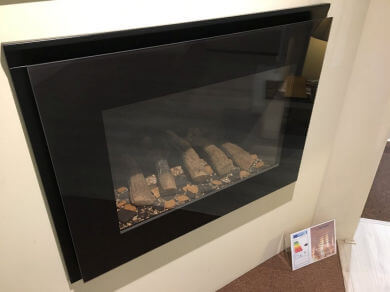 Nu-Flame Synergey hole-in-wall gas fire HE