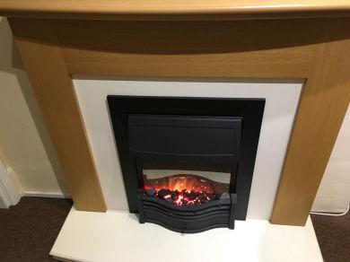 Oak veneer suite not inc fire