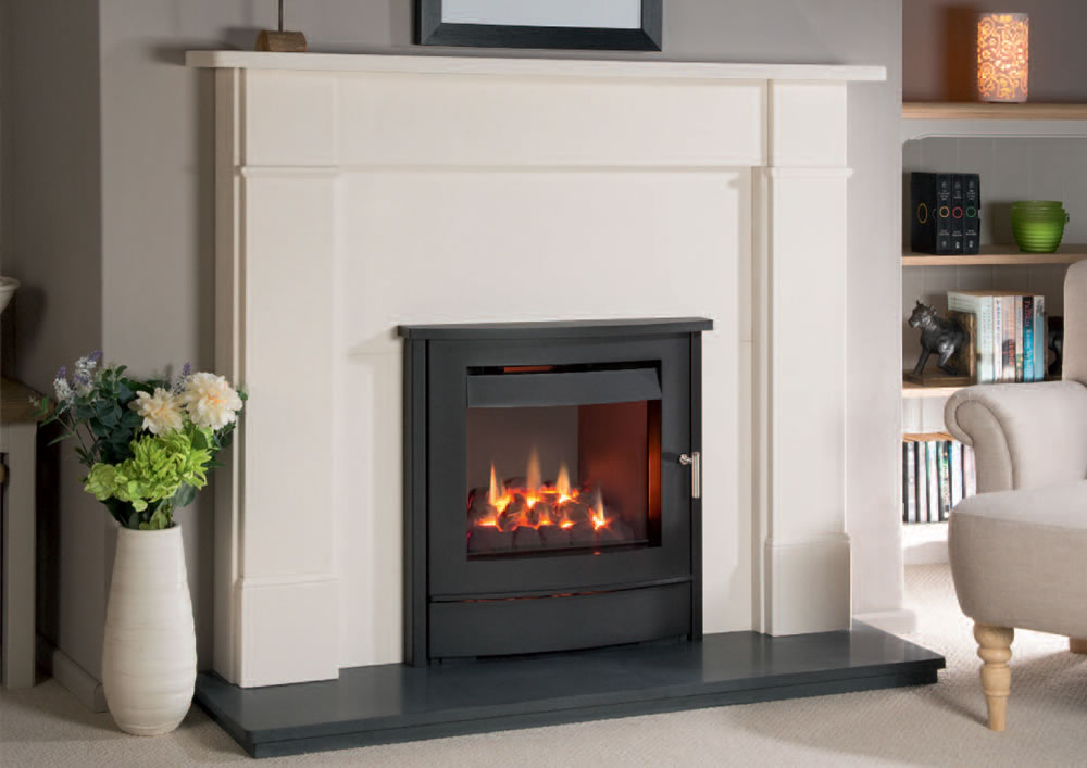 Nu-Flame Vitesse Balanced Flue with Standen Inset Stove Trim Manchester