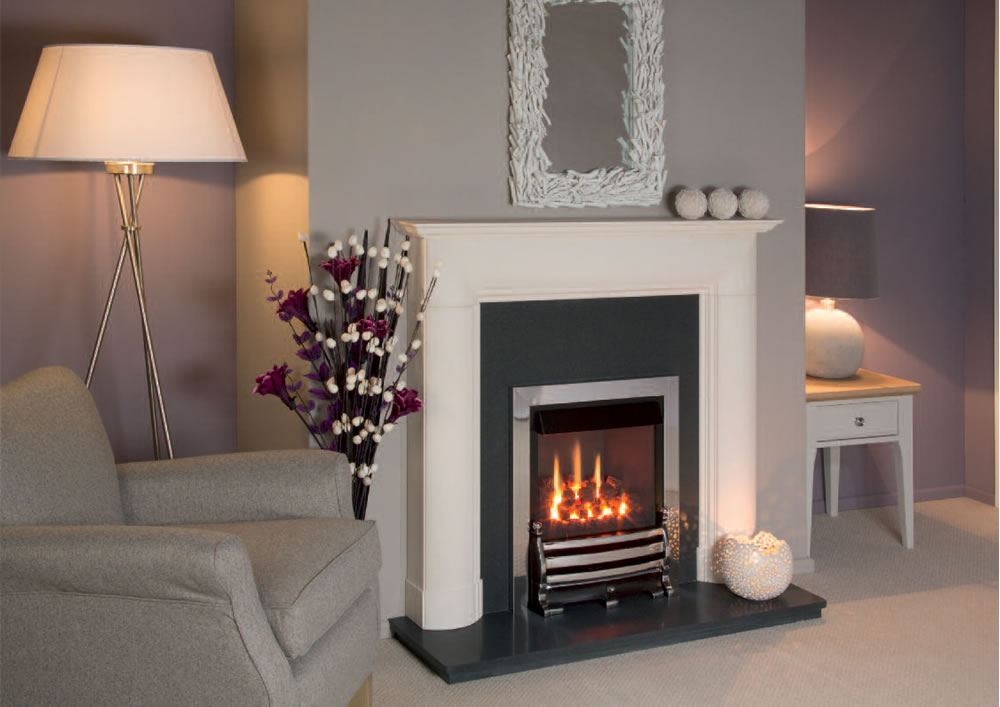 Nu-Flame Vitesse C/F Gas Fire with Royale Fret