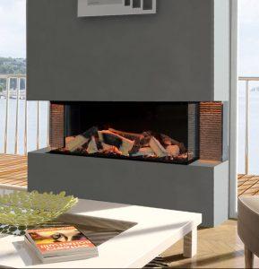 Evonic fires kiruna electric fireplace prestwich