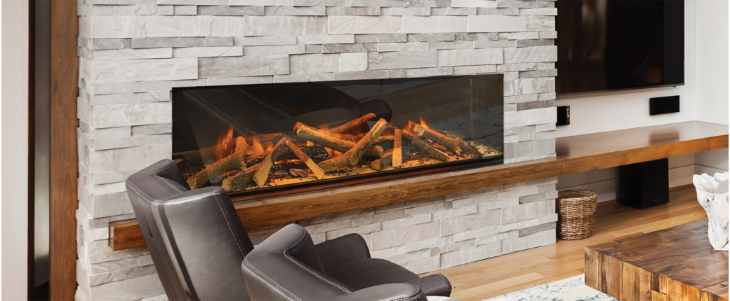 Evonic e1500GF Electric Fireplace